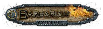 Barbarian Coin Set