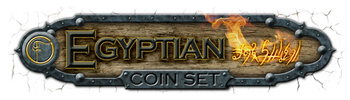 Egyptian Coin Set