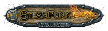 SteamPunk Coin Set