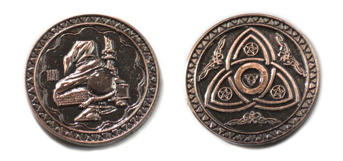Gold Fantasy Coins For Rpg And Fun
