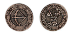 """10 Pack"" Elven Copper Coin Set"