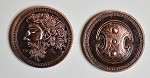 Greek Copper Coin Set
